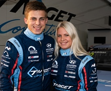 Racing siblings Bäckman once again part of the HMSG Customer Racing Junior Driver initiative