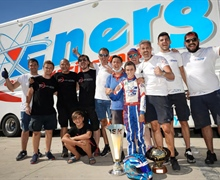 Energy Corse: A victory and a title to celebrate the return to competition