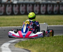 WSK Euro Series is getting off on the right foot for Kosmic Kart Racing Department