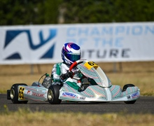 Competitiveness In Zuera for Tony Kart