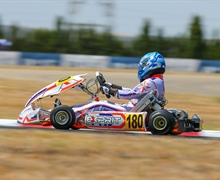 The Exprit Racing Team's debut in the FIA ​​Karting European Championship