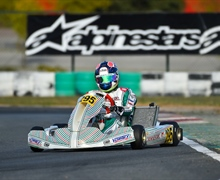 Tony Kart Racing Team on the occasion of the last round of the Champions of the Future