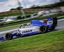 Andrea Rosso with CRAM Motorsport continues the preparation