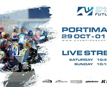Sunday Livestream of the final round of Champions of the Future in Portimao