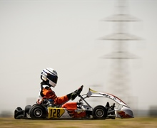 FIA Karting interviewed Lorenzo Patrese, son of Former Formula 1 driver Riccardo Patrese