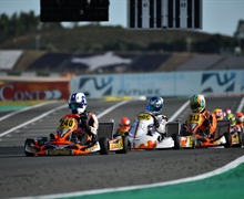 The CRG team is ready for the FIA World Championship OK & OK Junior in Portimao