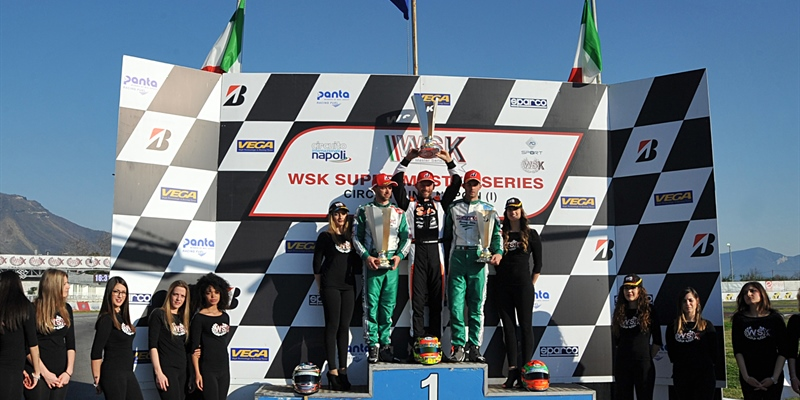 Final races at the WSK Super Master Series - rd.4 in Sarno (I)