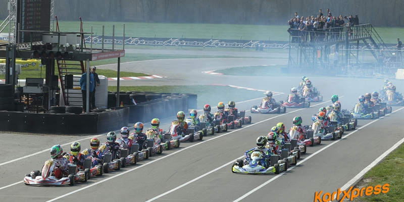 IAME X30 Euro Series thrilling season opener with 172 drivers in Mariembourg