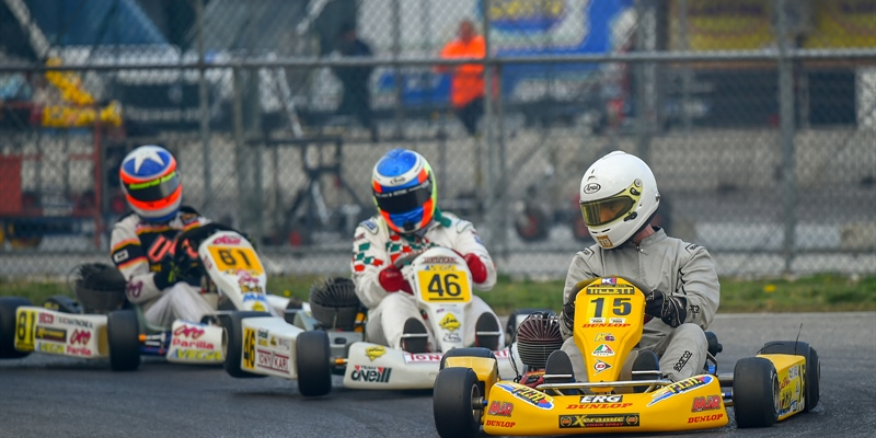 237 drivers from 40 countries ready for an exciting 30th Andrea Margutti Trophy