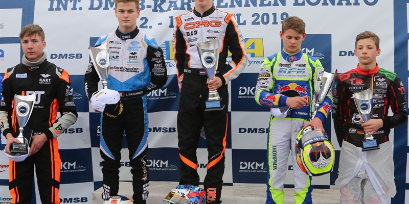 Kas Haverkort leads the DKM after an impressive weekend at round 1 in Lonato