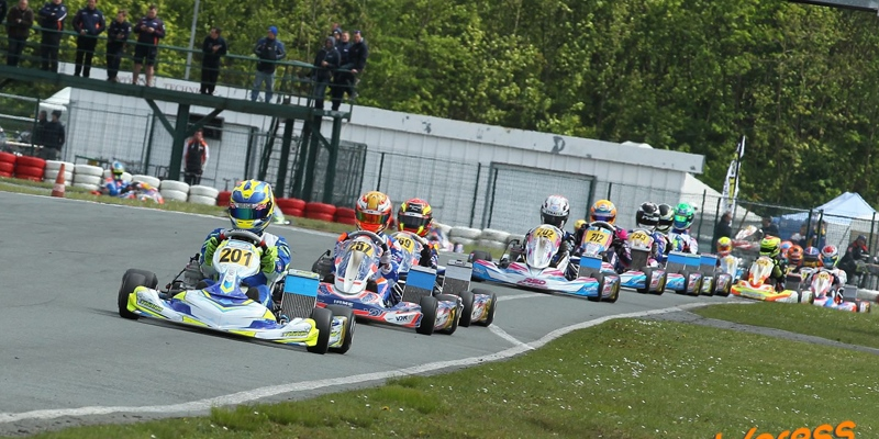 Dominant performance for Team Evolution at IAME Benelux Series in Ostricourt