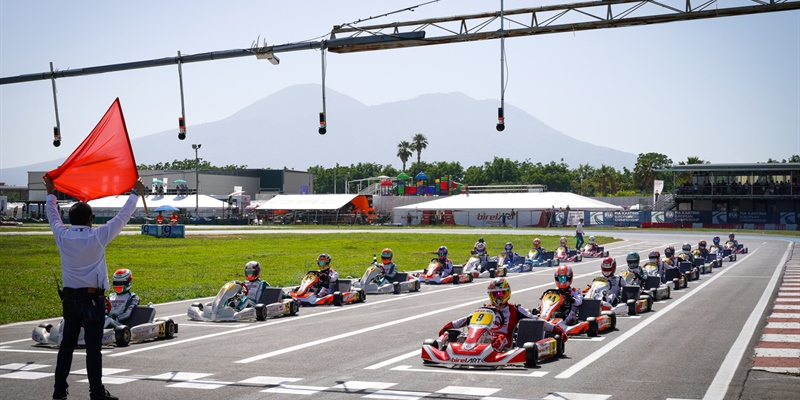 Top performance for Birel ART at Sarno