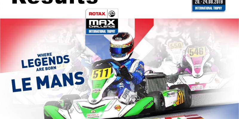 RESULTS: ROTAX Max Challenge International Trophy at the Circuit Alain Prost in Le Mans, France
