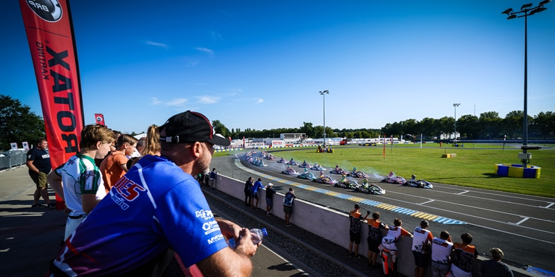 The Rotax Max Challenge International Trophy starts strong at Le Mans