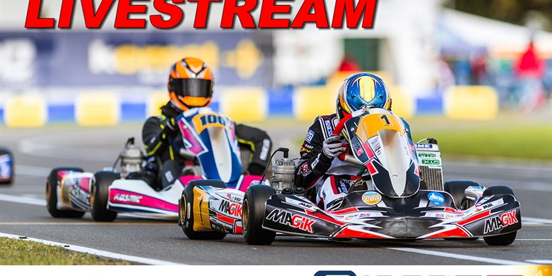 LIVESTREAM Saturday: IAME International Final 2019 at Le Mans