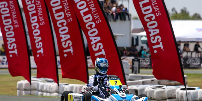 New Zealand teenager sets the pace at Race of Stars