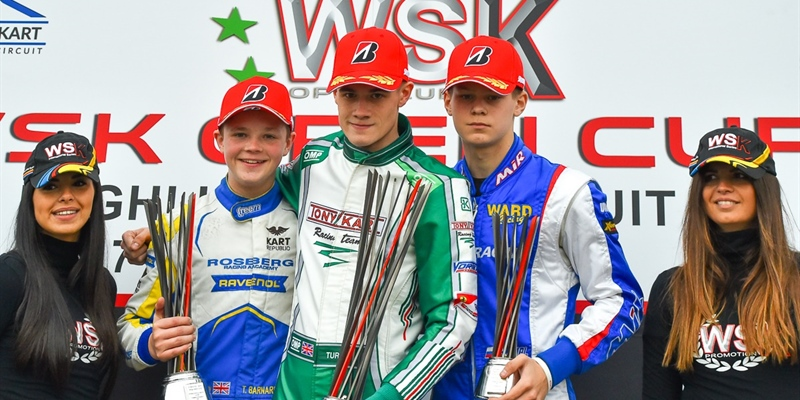 Joseph Turney wins the WSK Open Cup