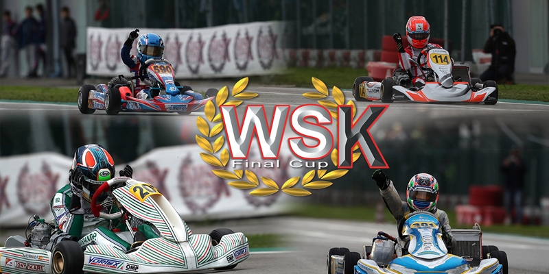 Final races at the WSK Final Cup of Adria (I)