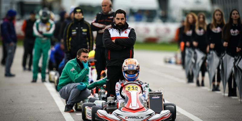 Double Parolin podium in Mini and OK-Junior with Khavalkin and Kucharczyk