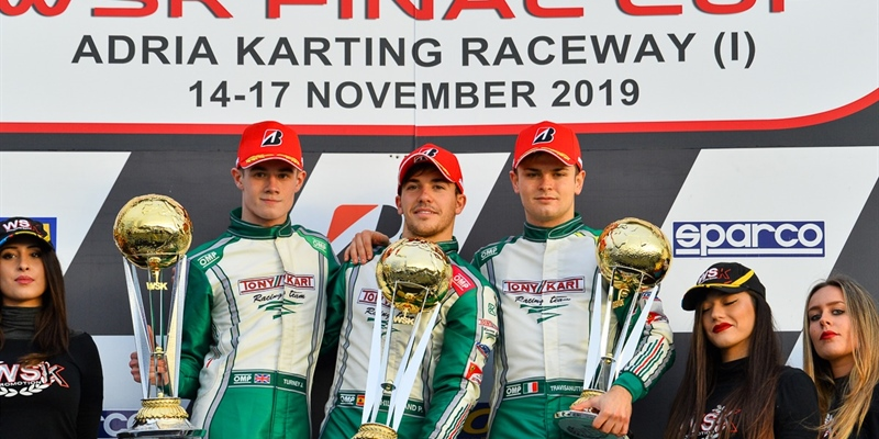 Hiltbrand Leads A Tony Kart Podium