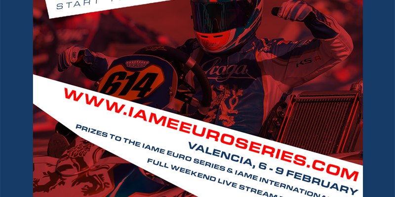 12 January - official closing date for entries to the RGMMC IAME Winter Cup 2020!