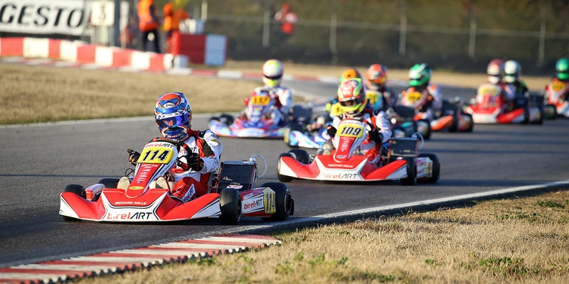 The 25th Winter Cup is underway in Lonato with more than 300 drivers and a lot of spectacle on track