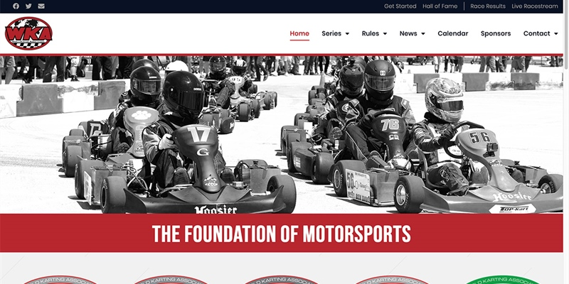 World Karting Association launches new website