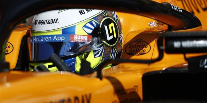 Lando Norris reveals he's been driving an F3 car and doing some karting next week to prepare for F1
