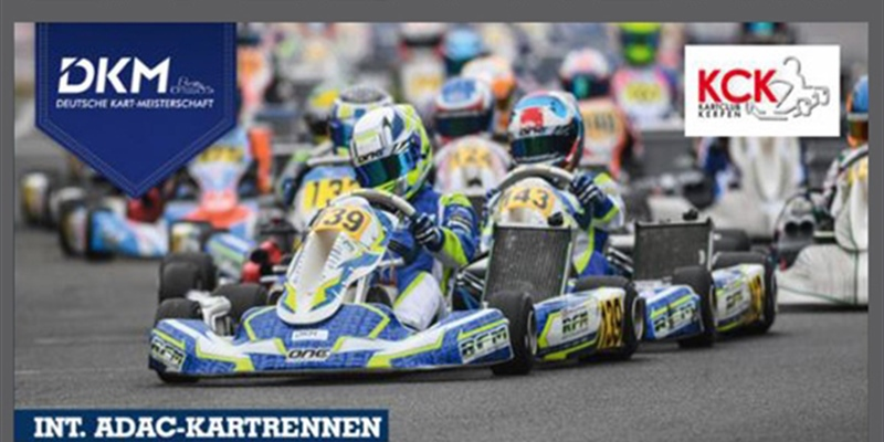 SUNDAY LIVESTREAM of the German Kart Championship Round 1 on the Erftlandring in Kerpen