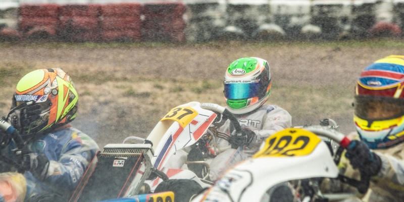 Arthur Rogeon's world championship perturbed by storms in the sky and on the track