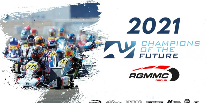 The provisional 2021 Champions of the future calendar!