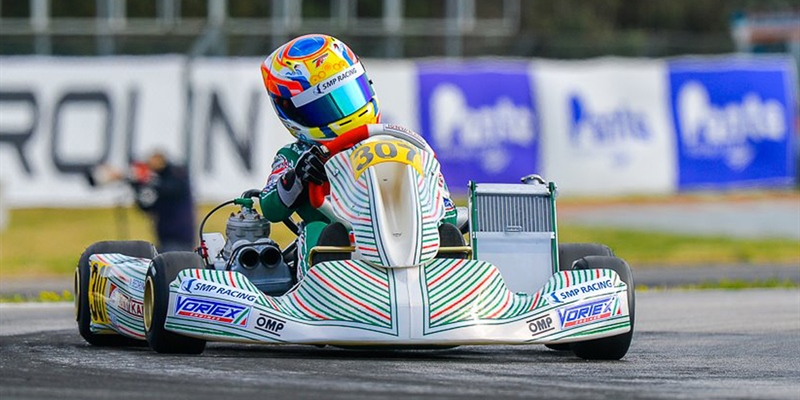 Bedrin takes podium position at La Conca for Tony Kart Racing Team