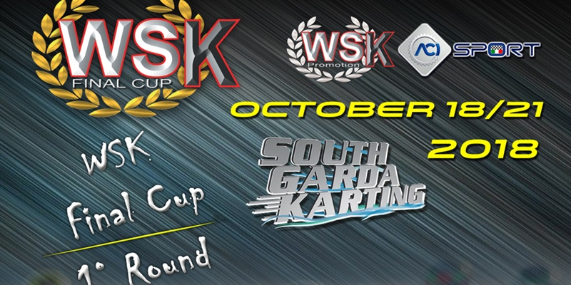 WSK Final Cup, first round on next weekend in Lonato