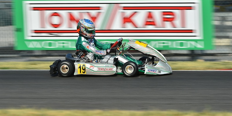 Tony Kart Racing Team ready for the first round of WSK Final Cup in Lonato