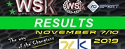 Results of the final sprint for the WSK Open Cup.