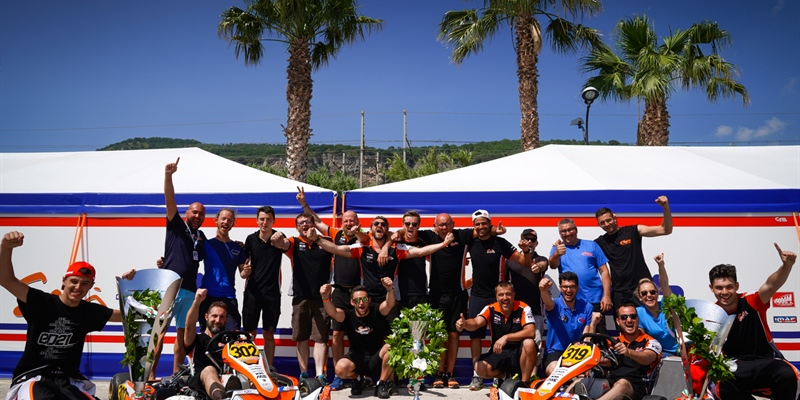 CPB Sport and Sodi winners at Sarno & European Vice-Champion in KZ2
