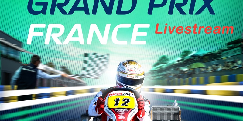 Livestreaming: The European battle in OK and OK-Junior at Le Mans in France