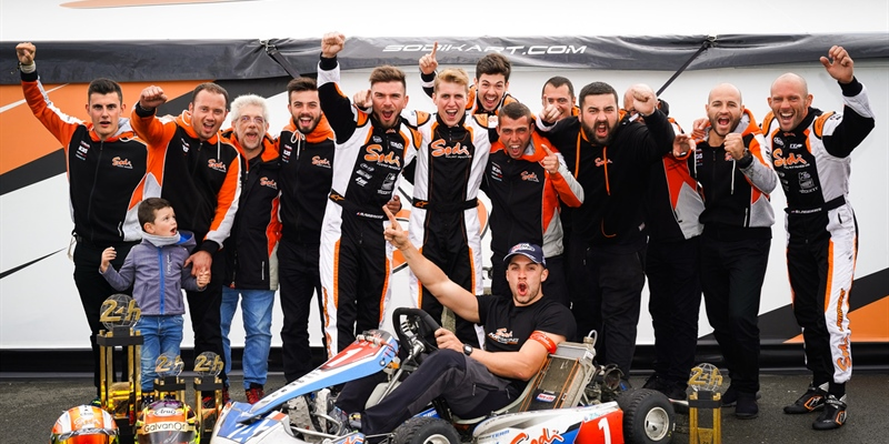 VIDEO Sodi Racing Team - Continued success for Sodikart at Le Mans 24 Hours Karting