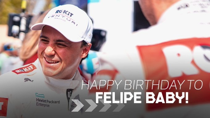 Happy birthday to Felipe Massa, ex-Formula one driver, Formula E-racer and CIK FIA karting president