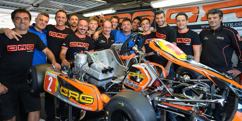 The CRG SpA team launches the 2018 24H Karting battle with pole position