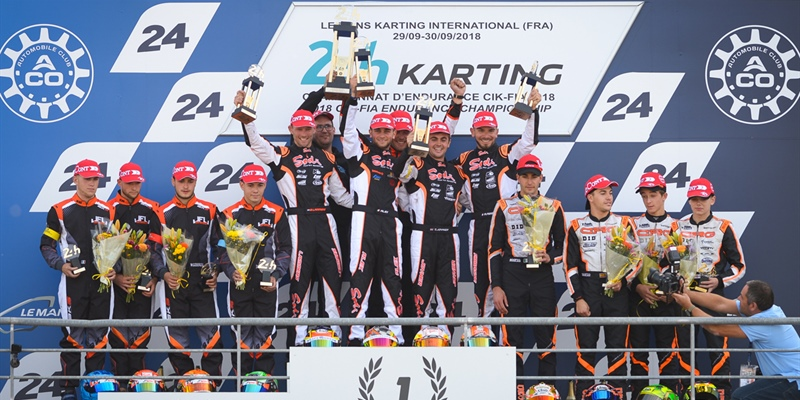 Historic double for SODI in the FIA Karting Endurance Championship