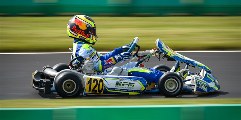 Harry Thompson: 2018 FIA Karting Rookie of the Year