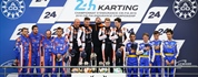 24 Hours Karting at Le Mans 2019: Sodikart wins the FIA Karting Endurance Championship for the...