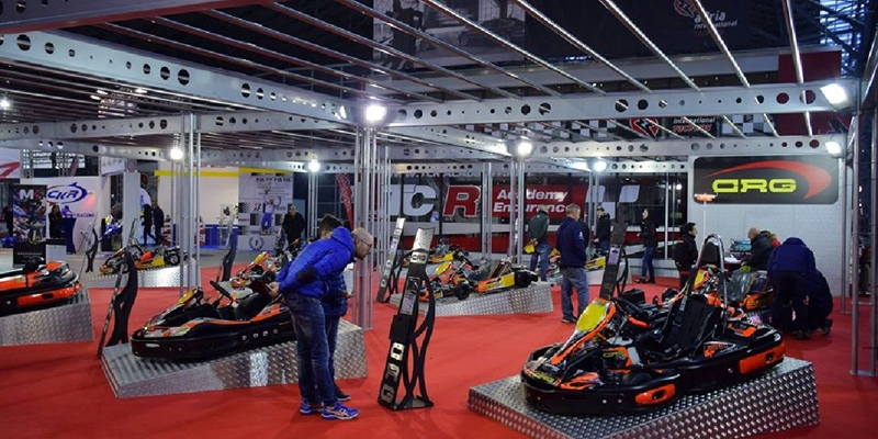 CRG at the 2nd Karting Expo