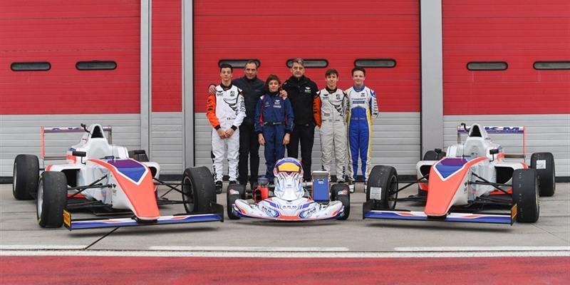 Team AKM Motorsport by Antonelli is born: partnership with Kart Republic of Dino Chiesa