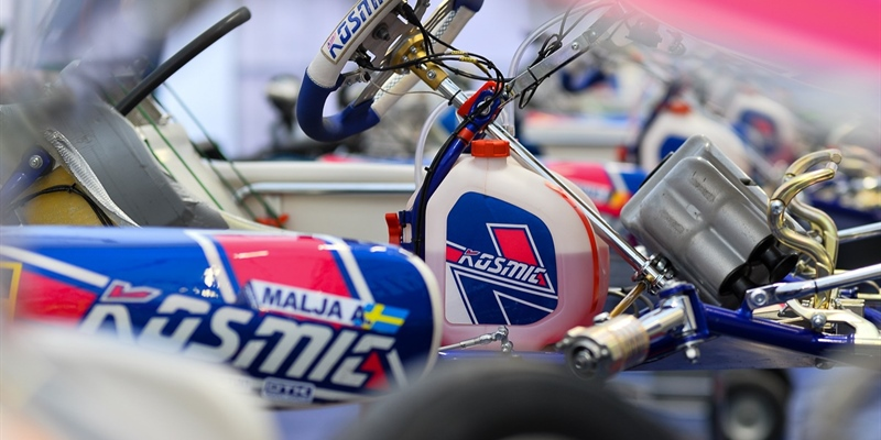The Kosmic Kart Racing Department is getting ready to take part in Lonato