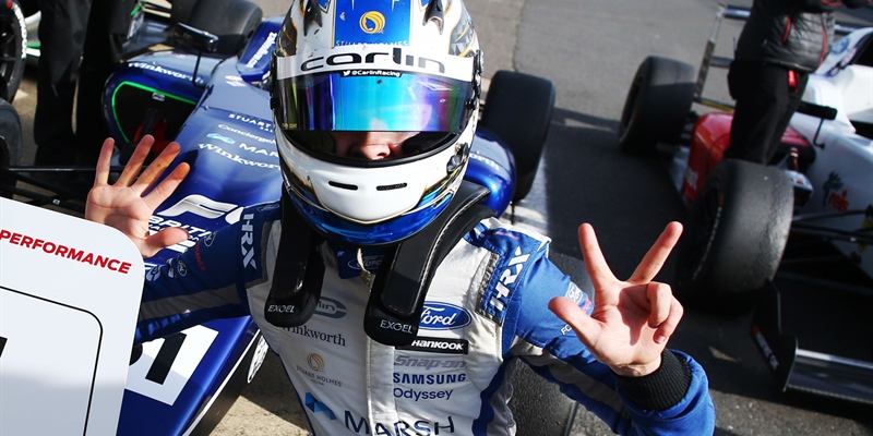 Zak O'Sullivan signs with Carlin for 2021 BRDC British F3