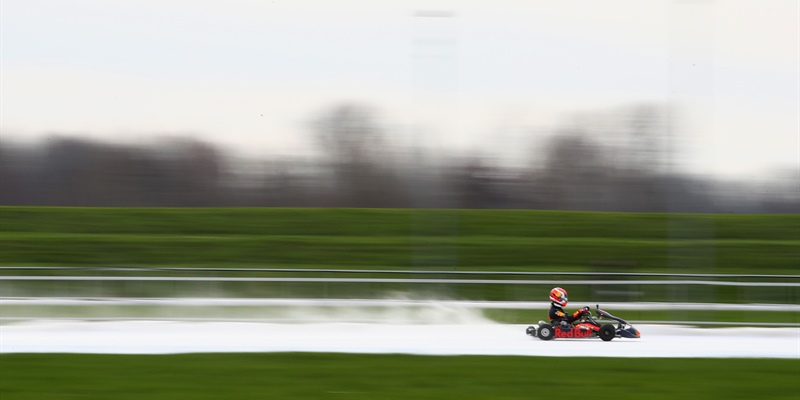 "Max Verstappen: ""This was my first time karting on ice and I had a lot of fun!"