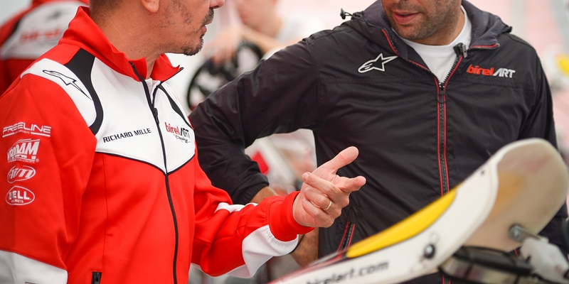 Birel ART and Davide Forè have agreed to end their collaboration, Luca Filini new manager of the...