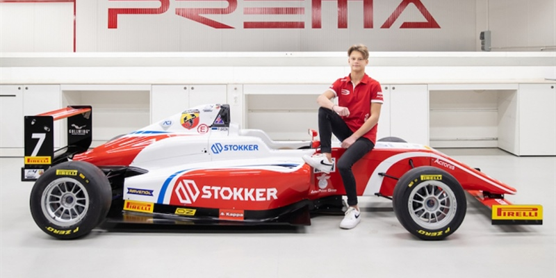 CIK FIA OK-J European Champion, Paul Aron, joins Prema for 2019 Formula 4 Championship